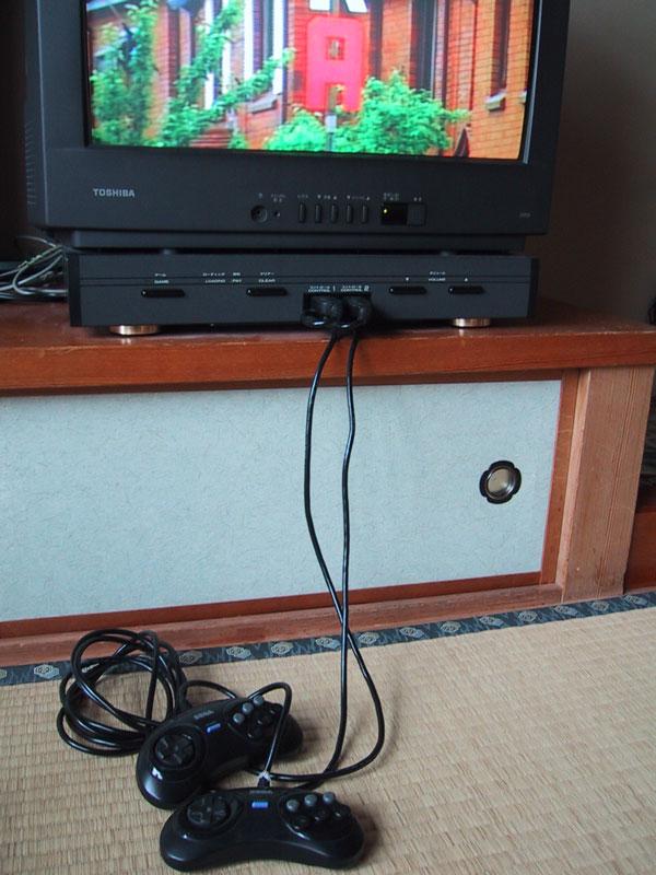旅館用メガドライブ